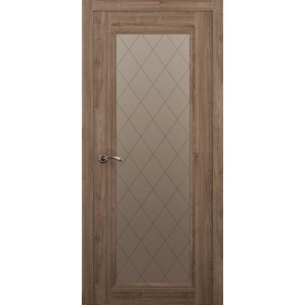 Дверь ALLEGRO 901, сосна крымская, остеклённая.