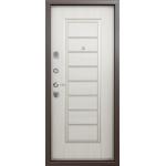 Дверь стальная Торекс Delta 07 (медь-белый перламутр), 2 замка сталь 1,5 мм.