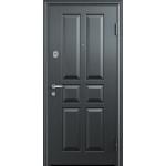 Дверь стальная Торекс Delta 10 (медь-орех грецкий), 2 замка сталь 1,5 мм.