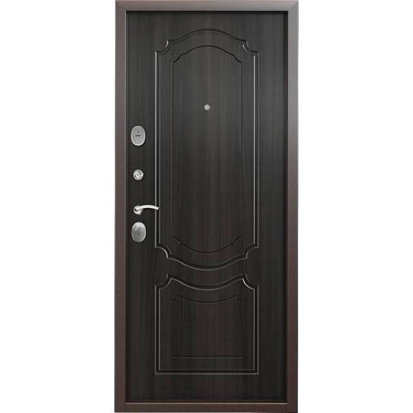 Дверь стальная Торекс Delta 10 (медь-венге), 2 замка сталь 1,5 мм.