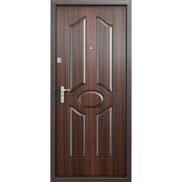 Дверь стальная Торекс Delta 07(медь-орех), 2 замка сталь 1,5 мм.