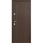 Дверь стальная Торекс Delta 07 (медь-венге), 2 замка сталь 1,5 мм.