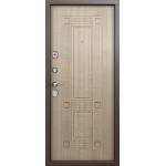 Дверь стальная Торекс Delta 07(медь-венге беленый), 2 замка сталь 1,5 мм.