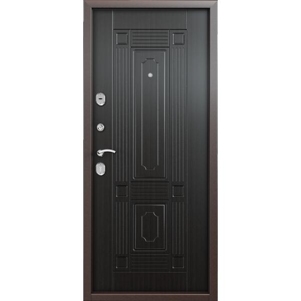 Дверь стальная Торекс Delta 07(медь-венге), 2 замка сталь 1,5 мм.