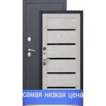 Дверь стальная Гарда Муар Царга-лиственница мокко 2 замка, сталь1,5мм